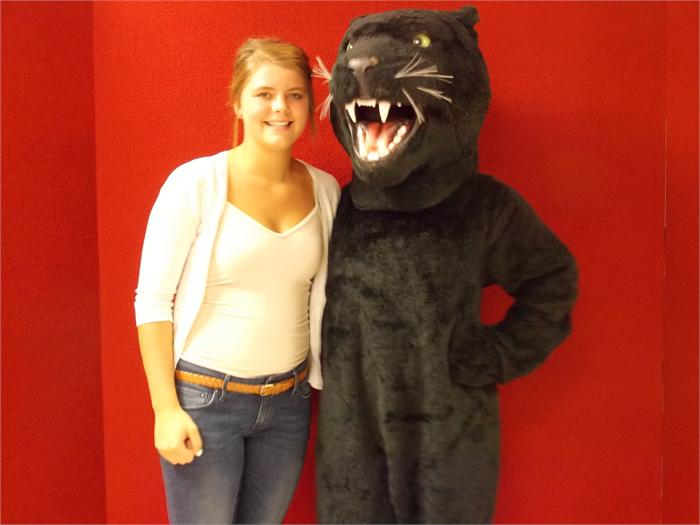 Photos with the Ludlow Panther!